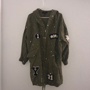 Trench coat like Jacket